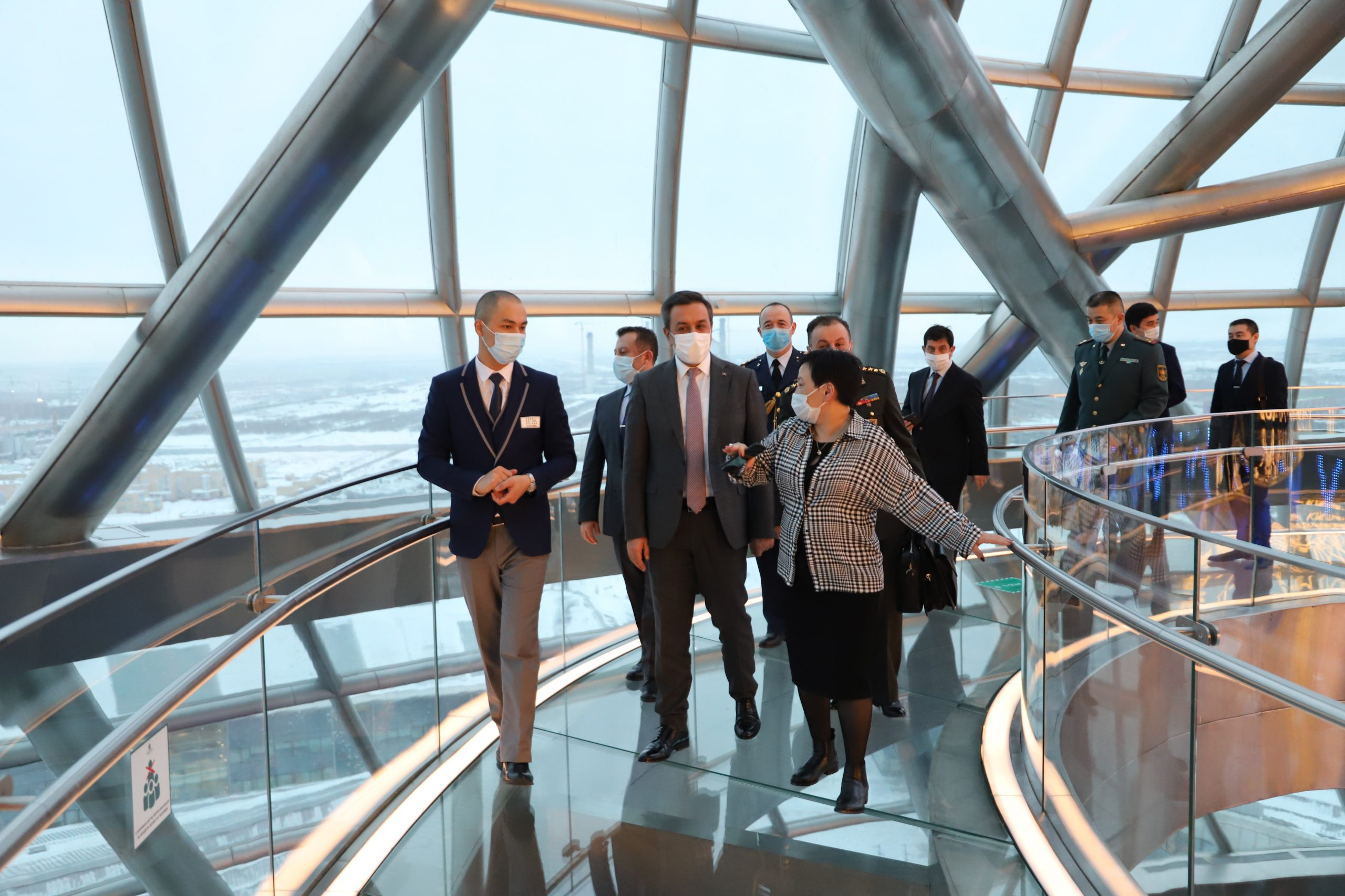 Deputy Minister of National Defense of the Republic of Turkey visited NUR ALEM Future Energy Museum