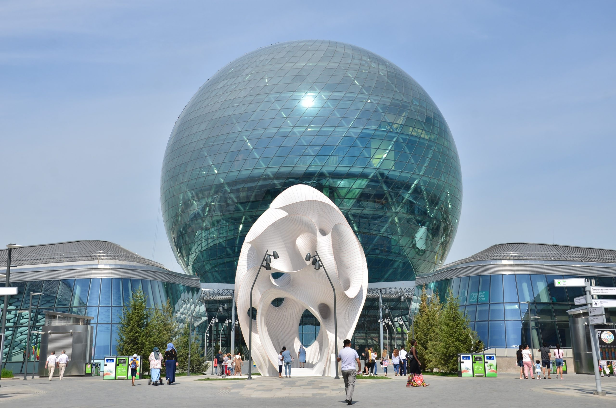 NUR ALEM Future Energy Museum resumes its work